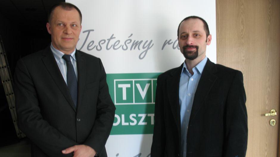 Jarosław Sarnowski (Urząd Marszałkowski w Olsztynie) i Mariusz Rychcik (WFOŚiG).