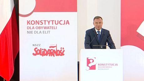 Debata Prezydenta RP Andrzeja Dudy