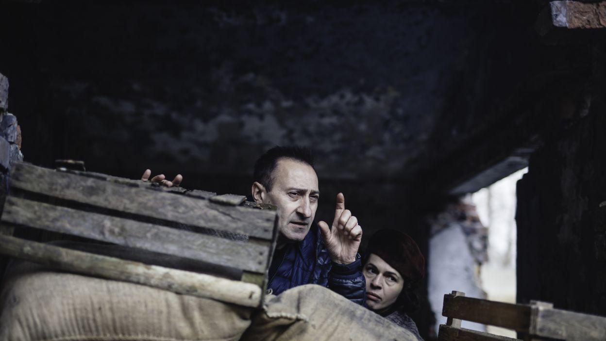Autorem scenariusza i reżyserem spektaklu jest Artur Hofman – aktor, reżyser, dziennikarz oraz działacz społeczności żydowskiej w Polsce (fot. S. Loba/TVP)