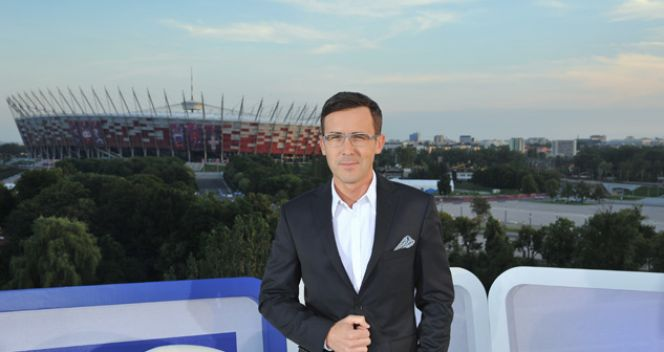 Gospodarz studia - Maciej Kurzajewski (fot. TVP/I. Sobieszczuk)