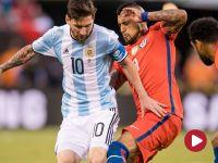 Copa America Centenario – finał: Argentyna – Chile (skrót)