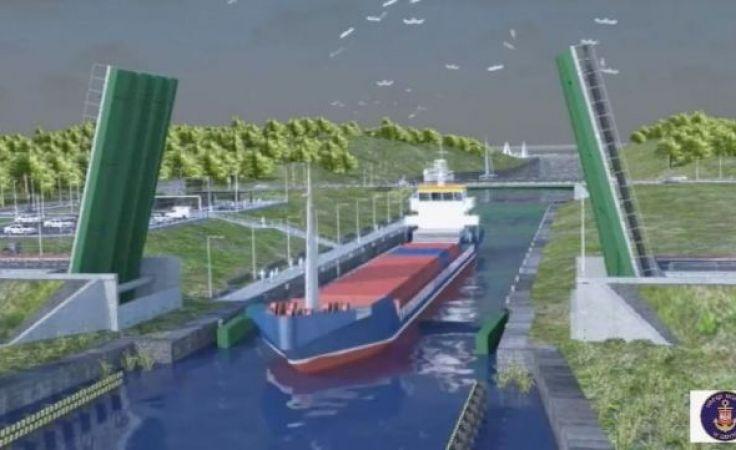 Według rządowych planów kanał przez Mierzeję Wiślaną ma on być gotowy za 5 lat