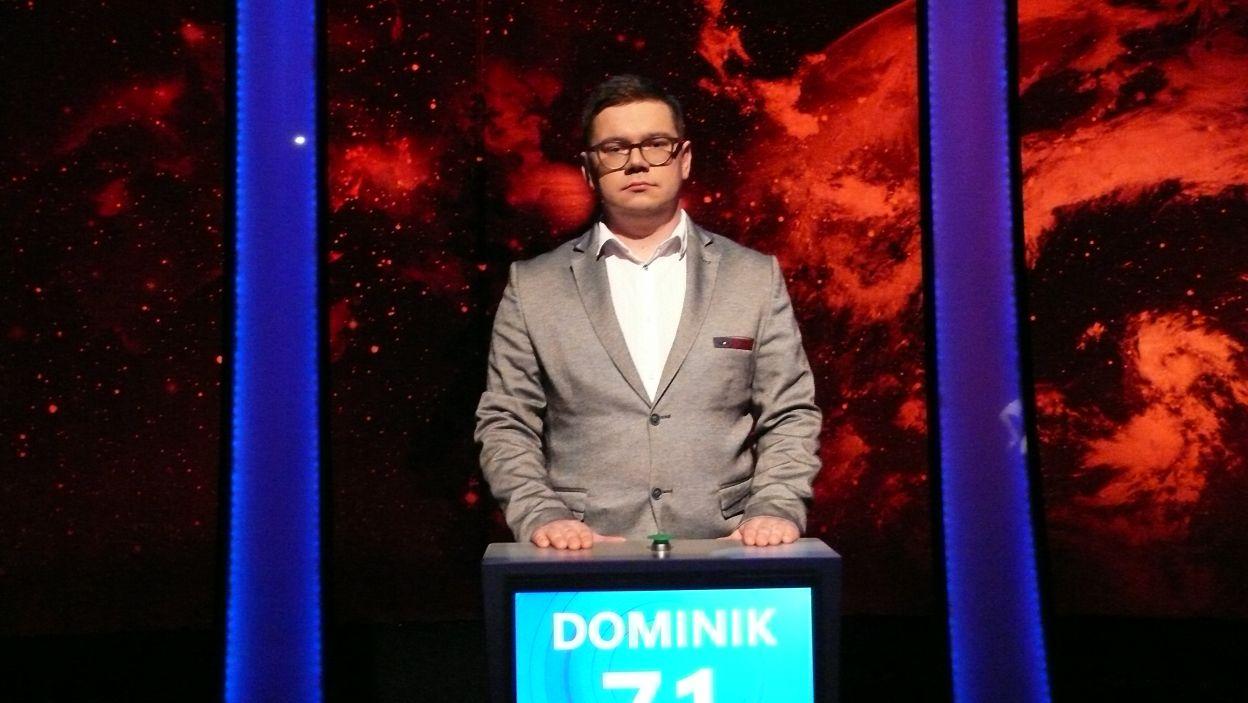 Dominik Marciniak - zwycięzca 6 odcinka 112 edycji
