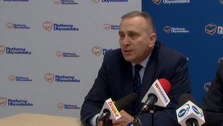 Grzegorz Schetyna (fot. TVP3 Wrocław)
