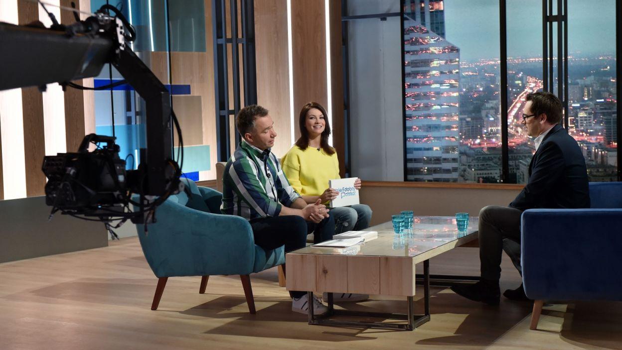 Pierwszy gość w naszym studiu: rozmowa o Oscarach z krytykiem filmowym Arturem Cichmińskim (fot. Ireneusz Sobieszczuk/TVP)