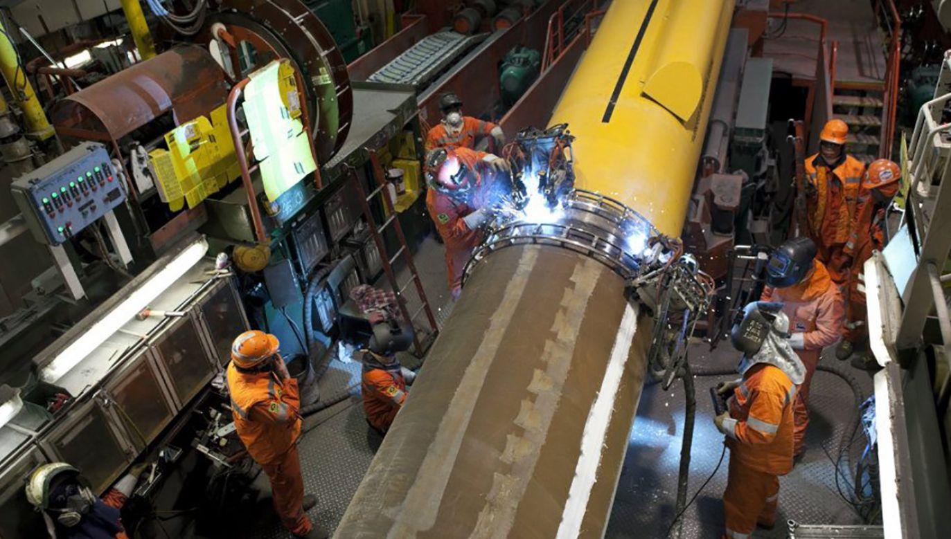 Gazociągiem Baltic Pipe do Polski można będzie sprowadzić rocznie 10 mld metrów sześciennych gazu ziemnego ze złóż norweskich (fot. facebook/Franco Sabatini)