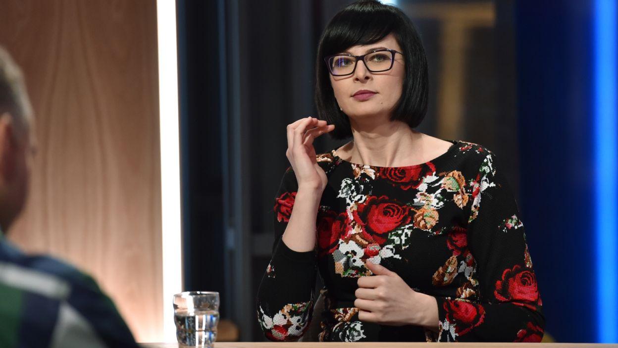 Arlena Witt będzie nas uczyła angielskich słówek (fot. Ireneusz Sobieszczuk/TVP)