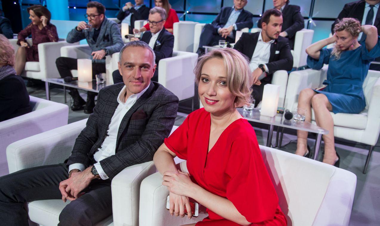 ...oraz Paweł i Joanna Orleańscy (fot. J. Bogacz/TVP)