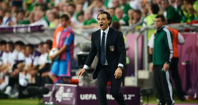 Opiekun reprezentacji Włoch, Cesare Prandelli (fot. Getty Images)