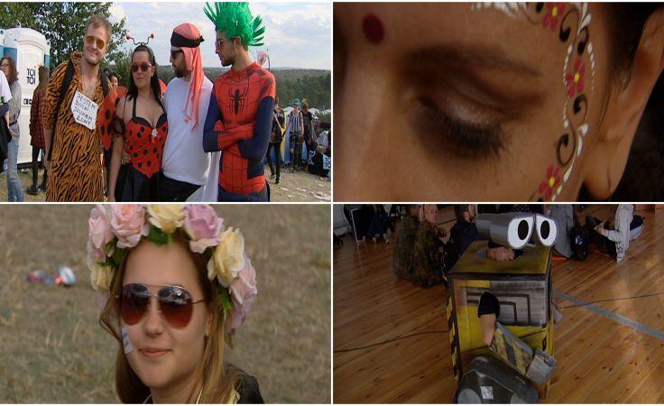 Nasz ranking festiwalowej mody: wianki, pidżamy i robot