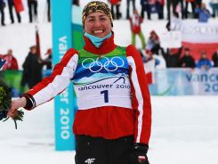 Justyna Kowalczyk zdobyła zloto w biegu na 30 km st. klasycznym, srebro w sprincie