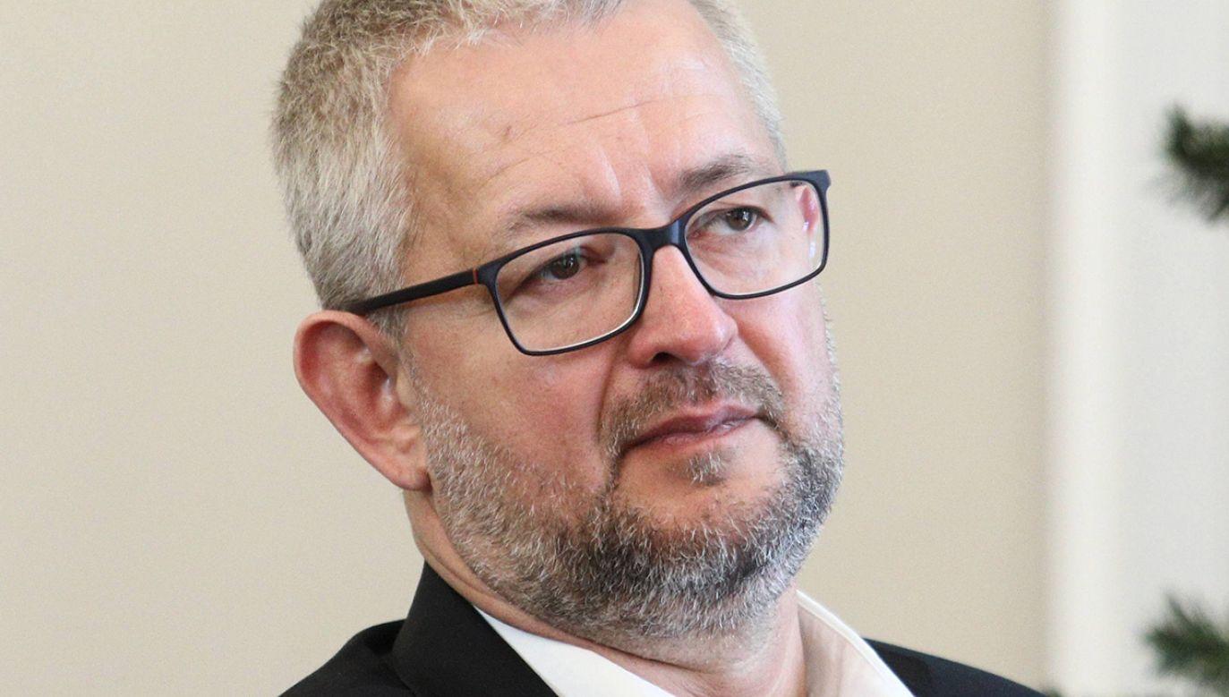 Rafał Ziemkiewicz nie pojedzie jednak na spotkania do Wielkiej Brytanii (fot. arch.PAP/ Leszek Szymański)