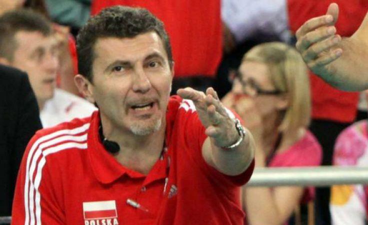 Andrea Gardini, był członkiem sztabu szkoleniowego reprezentacji Polski w czasach trenera Anastasiego. (fot. Cyfrasport/Jakub Piasecki).
