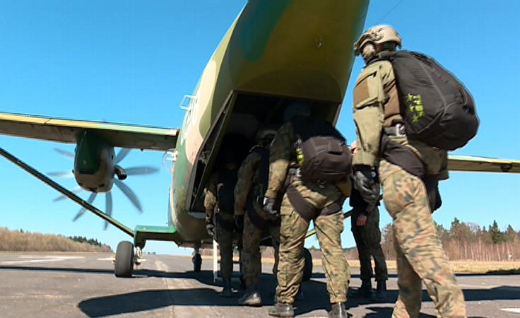 Szolenie poligonowe 6. Brygady Powietrznodesantowej