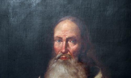 """Ks. Marek Jandołowicz, """"Ksiądz Marek"""", duchowy przywódca konfederacji barskiej, obraz pędzla nieznanego malarza z XVIII wieku"""