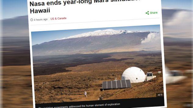 Eksperyment dobiegł końca (fot. bbc.com)
