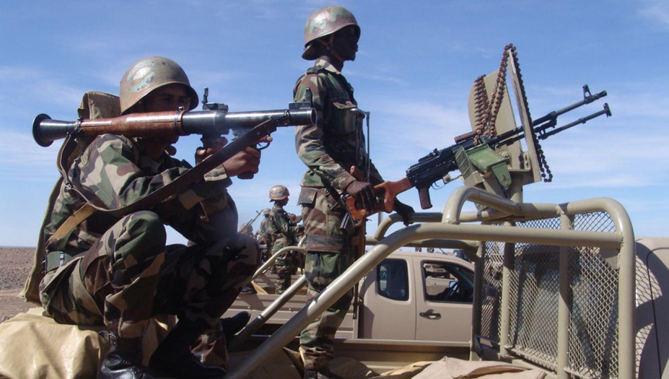 Siły pokojowe ONZ są obecne w Mali od 2013 r.  (fot. flickr/Magharebia)