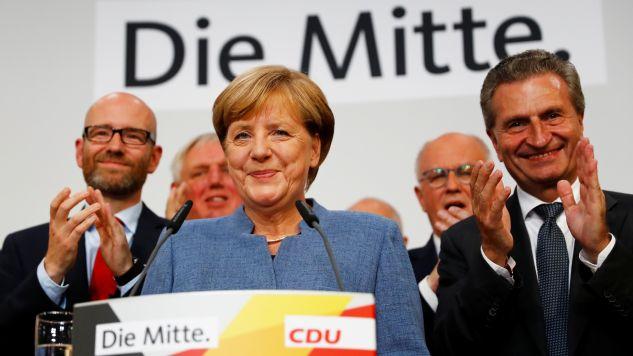 Angela Merkel prawdopodobnie pozostanie kanclerzem (fot. REUTERS/Kai Pfaffenbach)