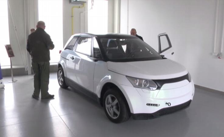 Prototyp pierwszego polskiego auta elektrycznego w Mielcu