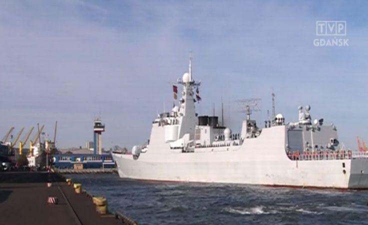 Chińskie okręty po raz pierwszy w polskim porcie