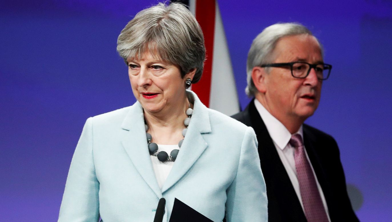 Premier Theresa May negocjuje warunki Brexitu (fot.  REUTERS/Yves Herman)