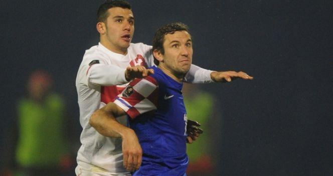 Darijo Srna w obydwu meczach barażowych rozegrał dziewięćdziesiąt minut (fot. Getty Images)
