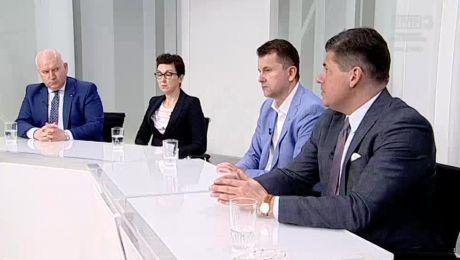 21.04.2018, Robert Paluch PiS, Katarzyna Osos PO,  Artur Zasada Porozumienie, Paweł Pudłowski Nowoczesna