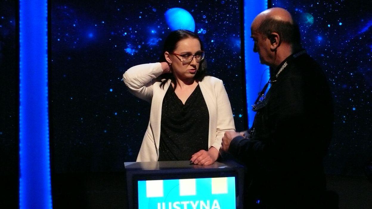 Pani Justyna wylosowała już dla siebie stanowisko gry w 9 odcinku 112 edycji