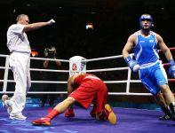 Roberto Cammarelle jest dwukrotnym medalistą olimpijskim, w tym złotym z Pekinu (fot. Getty Images)