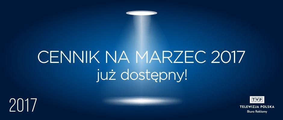 Cennik Marzec