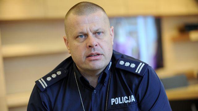 Komendant główny policji po dymisji: wiem, że przeciwko mnie funkcjonariusze BSW przygotowywali prowokację