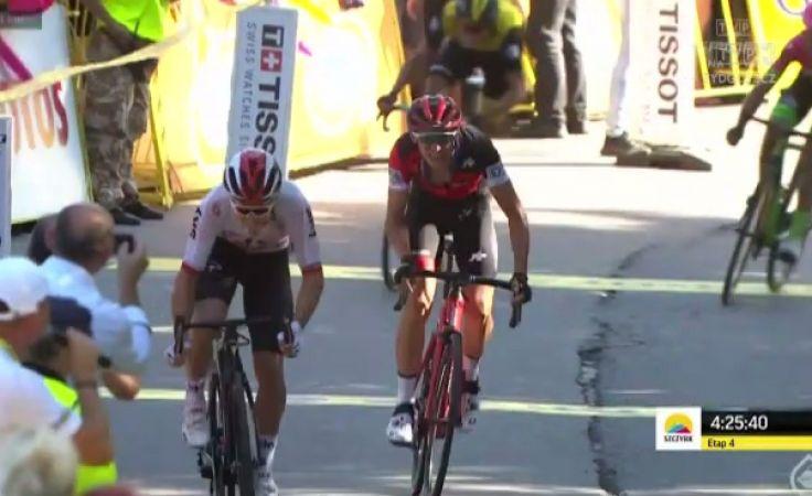 Kwiatkowski wygrał 4. etap Tour de Pologne