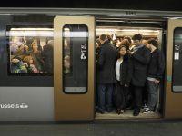30 proc. Belgów boi się korzystać z metra