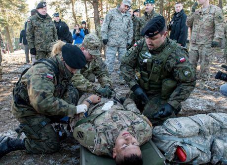 Świętoszów: ćwiczenia wojsk pancernych