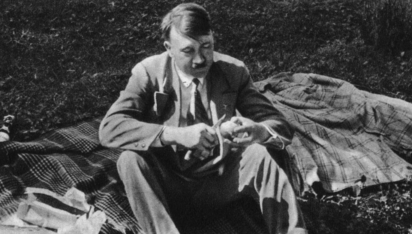 Adolf Hitler był wybrednym wegetarianinem (fot. Heinrich Hoffmann/Hulton Archive/Getty Images)