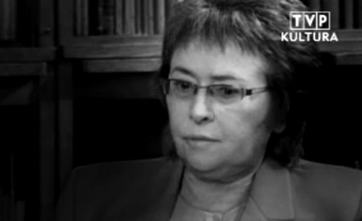 W  poniedziałek zmarła prof. Maria Dzielska, (fot. TVP)