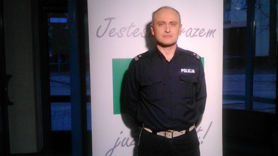 podinsp. Mariusz Tański, Komenda Wojewódzka Policji w Olsztynie.