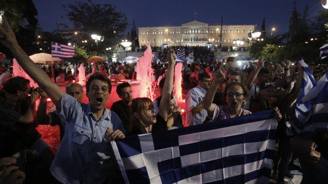 """Grecy powiedzieli """"nie"""". Wielka feta w Atenach"""