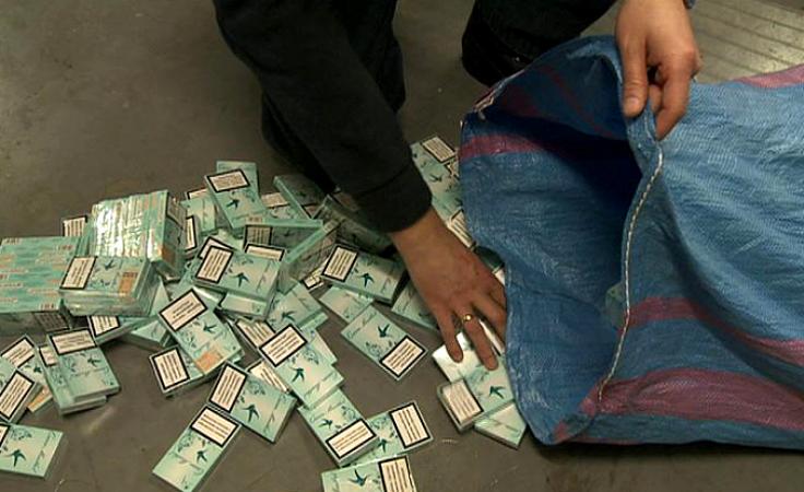 Zatrzymana kontrabanda. 12 000 przemycanych paczek papierosów