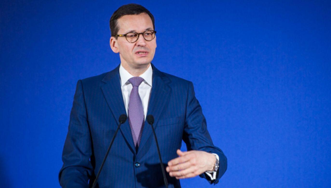 Premier Mateusz Morawiecki rozpoczyna wizytę w Berlinie (fot. KPRM/W. Kompała)