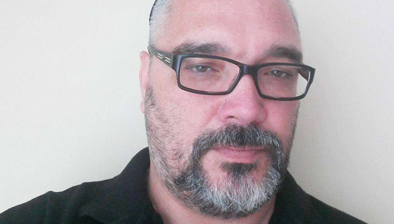 Eli Zolkos z Jewish Defence League Poland (fot. Archiwum prywatne)