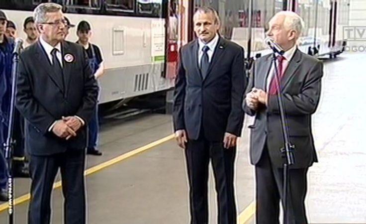 Wizyta prezydenta Komorowskiego w Pesie