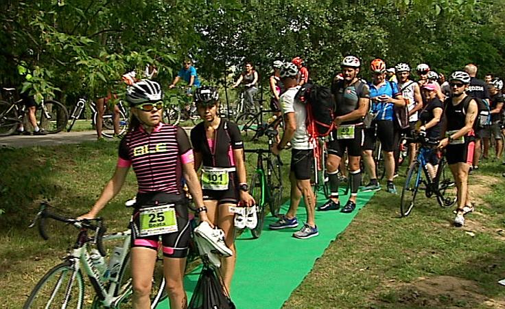 Ponad 240 zawodników rywalizowało w rzeszowskim Triathlonie