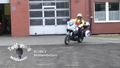 30.04.2018, Słubice: motoambulans