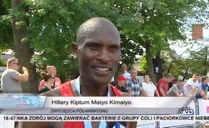 300 osób wzięło udział w półmaratonie, wygrał Kenijczyk