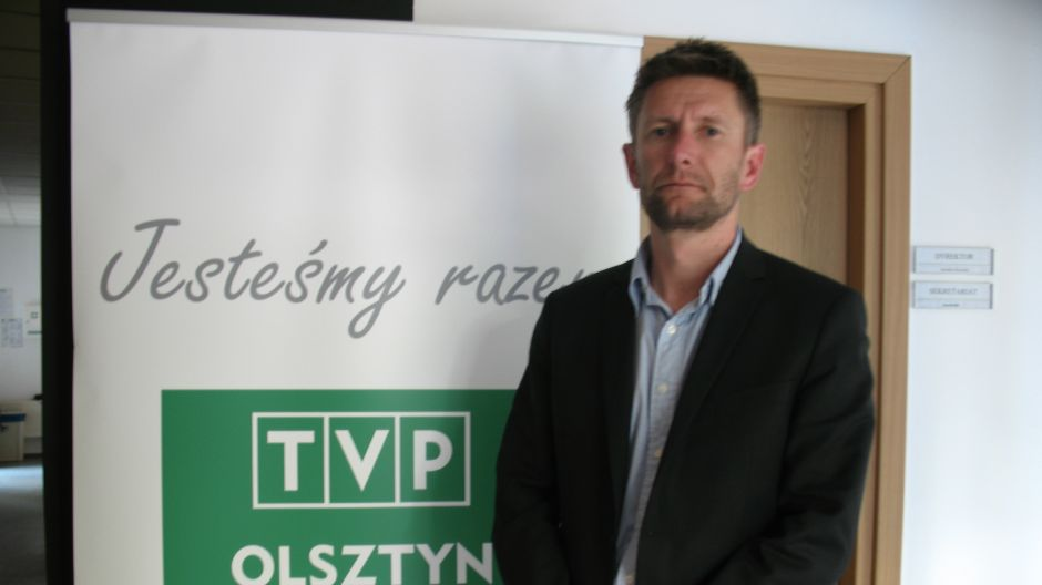 Mariusz Borkowski, prezes Stomilu Olsztyn.