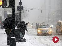 Z powodu śnieżycy zakaz ruchu w Nowym Jorku. Odwołano premierę opery Trelińskiego