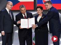 """""""Grupa Wyszehradzka jako start-up Europy"""". Deklaracja warszawska podpisana"""