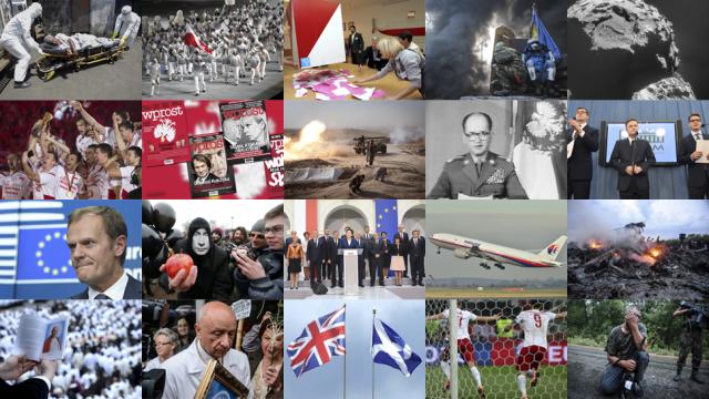 Wybierz z nami najważniejsze wydarzenia 2014 roku
