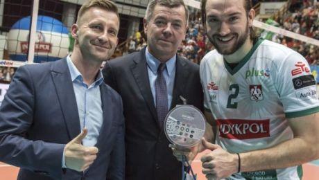 Najlepszym zawodnikiem meczu wybrano Jana Hadravę (fot. indykpolazs.pl)